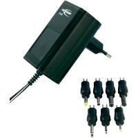 Síťový adaptér s redukcemi Ansmann APS 1000, 3 - 12 V/DC , 12 W