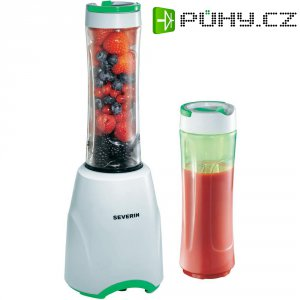 Smoothie Maker Severin SM3735 Mix & Go, 300 W, bílá