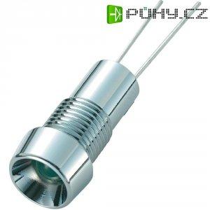 LED signálka SCI R9-126L Green 12V, LED vnitřní reflektor 5 mm, zelená