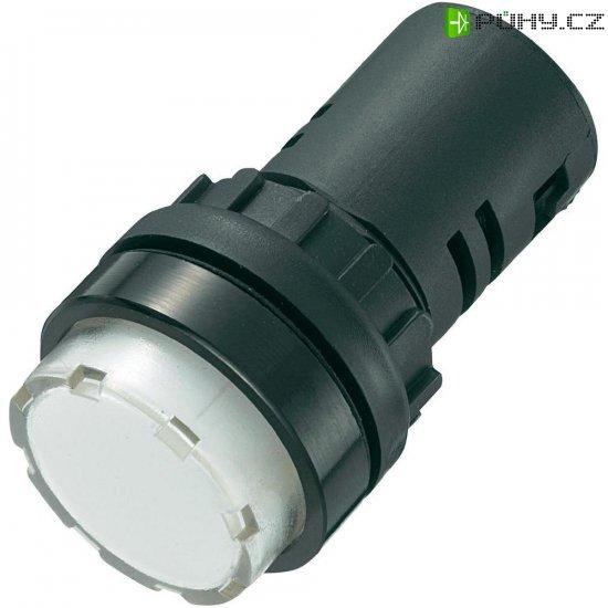 LED signálka AD16-22ES/230V/W, 230 V/AC, bílá - Kliknutím na obrázek zavřete