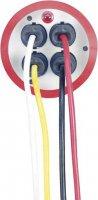 Kabelový buben Brennenstuhl Garant ROL`UP, 1328930, 3 zásuvky, 40 m, červená