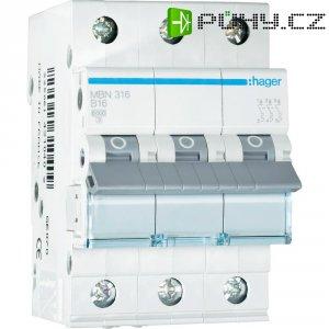 Jistič B Hager MBN316, 16 A, 3pólový, 230/400 V