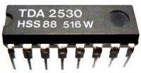 TDA2530 - budič RGB, DIP16