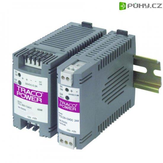 Zdroj na DIN lištu TracoPower TCL 024-124DC, 24 V/DC, 1 A - Kliknutím na obrázek zavřete