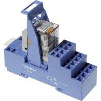 Vazební relé pro lištu DIN Finder 58.54.8.230.0060, 230 V/AC, 7 A, 4 přepínací kontakty