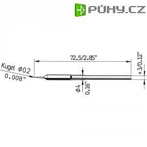 Pájecí hrot Ersa 212 SD LF, 0,2 mm