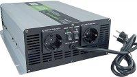 Měnič+UPS+nabíječ 24V/230V/2000W, čistá sinus., Soluowill NPS2000