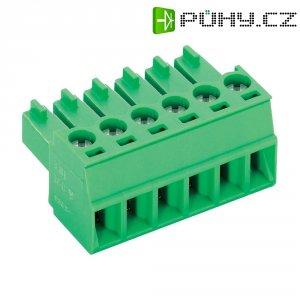 Šroubová svorka PTR AK1550/10-3.5 (51550100001D), AWG 28-16, VDE/UL: 160 V/ 300 V, zelená