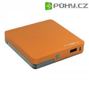 Mobilní akumulátor PowerTube Mipow, 8000 mAh, oranžový