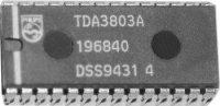 TDA3803 - zvukový obvod pro TV, DIP28