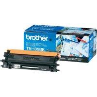 Originální toner Brother TN-135BK, 5000 stránek, černá
