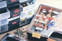 Páska do štítkovače Brother TZ-B 31, 12 mm, TZe, TZ, 5 m, černá/signální oranžová