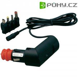 Nabíjecí kabel do autozásuvky ProCar, multizástrčka, 12 V ⇔ 5 V/24 V ⇔ 5 V, 1 A