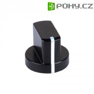 Hliníkový otočný knoflík Mentor 5583.6631, 6 mm, černá
