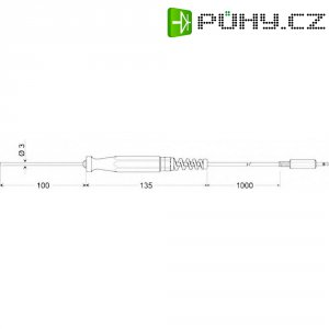 Povrchový snímač pro pevné povrchy, Greisinger GOF 175, 100760