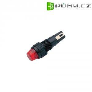 Signálka s objímkou RAFI, 35 V, W2 x 4,6d, 9,1 mm, červená