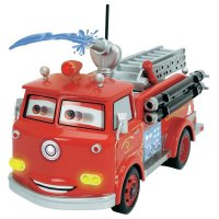 RC model Dickie Toys hasiči Red Fire Engine 1:16, RtR