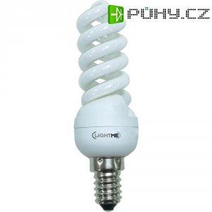 Úsporná žárovka spirálovitá Lightme Full Spiral E14, 11 W, teplá bílá