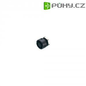 Kulatý konektor submin. Binder 710 (09-0982-00-04), 4pól., zásuvka vest., 0,25 mm², IP40