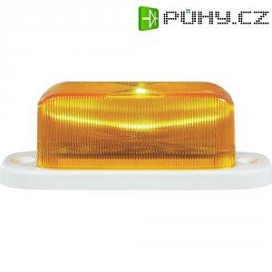 LED stroboskop, 7,62 Hz a 24,75 Hz, oranžová