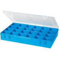 Box na součástky Alutec 611900, 335 x 225 x 55 mm, modrá