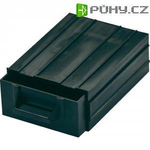 ESD zásuvka na součástky BJZ C-188 101, 120 x 87 x 40 mm, černý