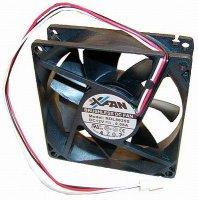 Ventilátor 92x92x25mm 12V/0,105mA 1,3W 2400 ot/min