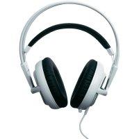 Sluchátka s mikrofonem SteelSeries Siberia v2 Full-size v bílé barve