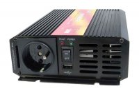 Měnič napětí 24V/230V 300W CZ čistá sinusovka CARSPA