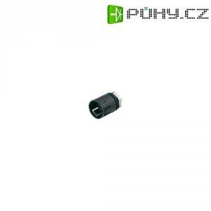 Kulatý konektor submin. Binder 620 (99-9211-00-04), 4pól., zástrčka vest., 0,25 mm², IP67