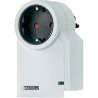 Mezizásuvka s přepěťovou ochranou Phoenix Contact 2882297 MNT-TV-SAT/WH, 16 A, 3600 W, bílá