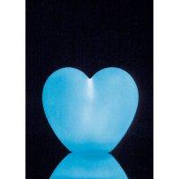 Dekorativní LED osvětlení ve tvaru srdce, 3669, barevné