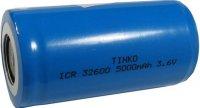 Nabíjecí článek Li-Ion ICR32600 3,6V/5000mAh TINKO