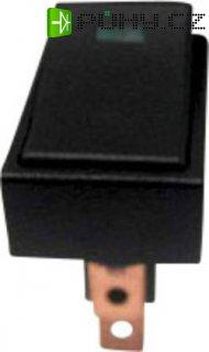 Kolébkový spínač promotorová vozidla 25 A