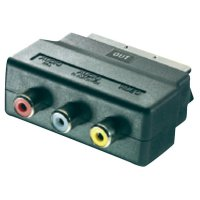 Adaptér SCART/3 Cinch SpeaKa