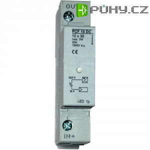 Držák pojistky ESKA 1038004, 1000 V/DC, 20 A, 36 x 84 x 64 mm