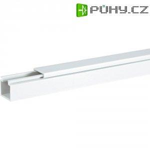 Elektroinstalační lišta Hager, LF6006009010, 60x60 mm, 2 m, bílá