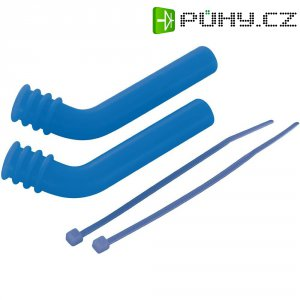 Koncovka tlumiče výfuku Reely, 7 mm, modrá, 2 ks (GS-P21BL)