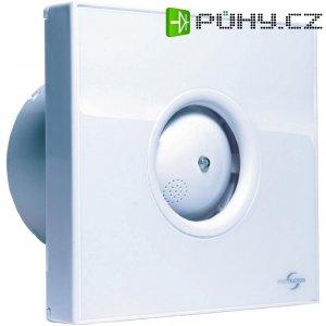 Vestavný ventilátor Protector PROAIR Hygro, 230 V, 75 m3/h, 14 x 15 cm, bílá