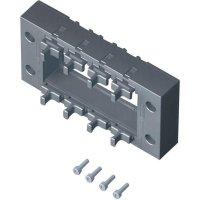 Těsnicí rám konektorové průchodky Rittal 2400900 (2400.900), IP64, 145 x 67 x 19 mm, černá