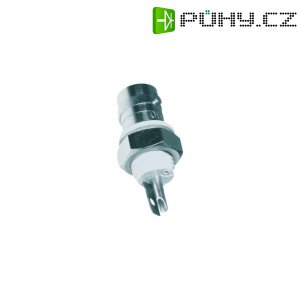 BNC vestavná zdířka Amphenol B6651B1-NNYL3G-50, 50 Ω