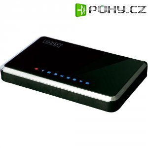 Síťový switch, 8x port, 100 Mbit/s, Digitus DN-50021