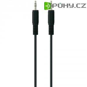 Připojovací kabel Belkin jack zástr. 3.5 mm/jack zástr. 3.5 mm, 1 m, černý