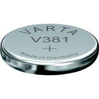 Knoflíková baterie 381 Varta, SR55, na bázi oxidu stříbra