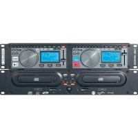 Dvojitý CD/MP3 přehrávač Mc Crypt CMP-960, USB/SD