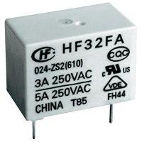 Síťové relé Hongfa HF32FA/005-HSL2 (610), 5 A , 30 V/DC/ 250 V/AC , 1250 VA/ 150 W