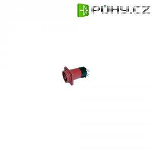 Vestavná síťová zásuvka Cliff Cliffcon, 20 A, horizontální, červená, černá, FCR6929