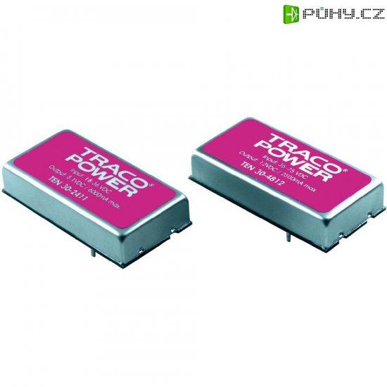 DC/DC měnič TracoPower TEN 30-4822, vstup 36 - 75 V/DC, výstup ±12 V/DC, ±1250 mA, 30 W - Kliknutím na obrázek zavřete