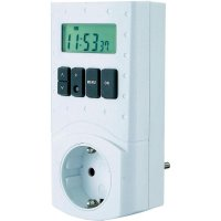 Spínací zásuvka s časovačem GAO, EMT 799, 3680 W, IP20, digitální, týdenní