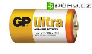 Baterie C (R14) alkalická GP Ultra Alkaline R14
